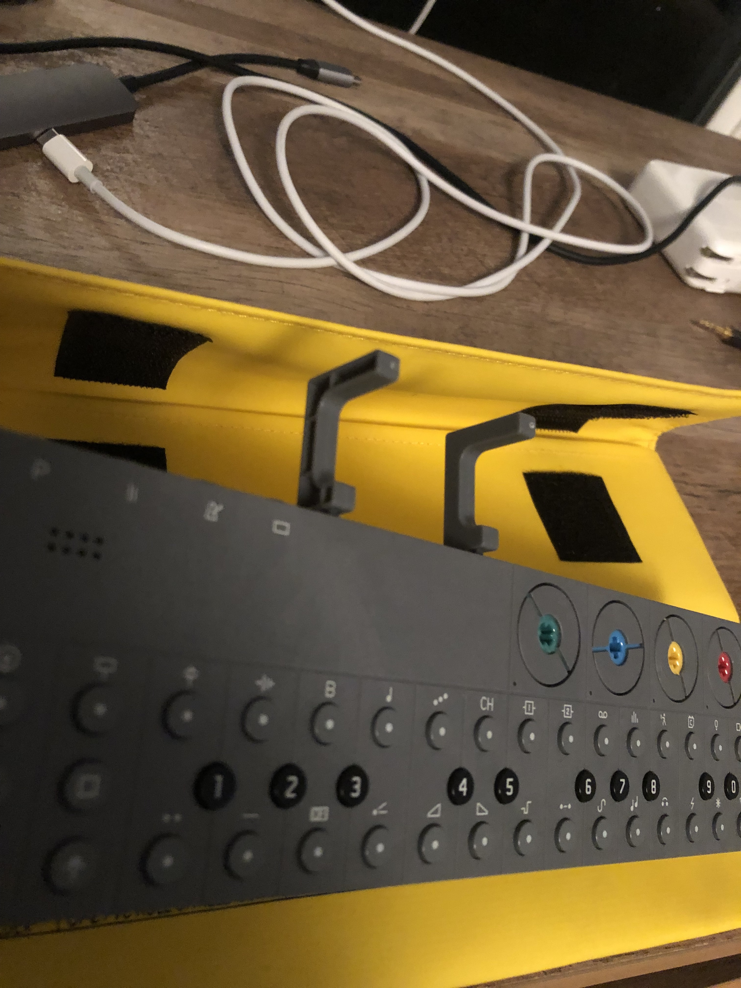 OP-Z iPhone Stand 2